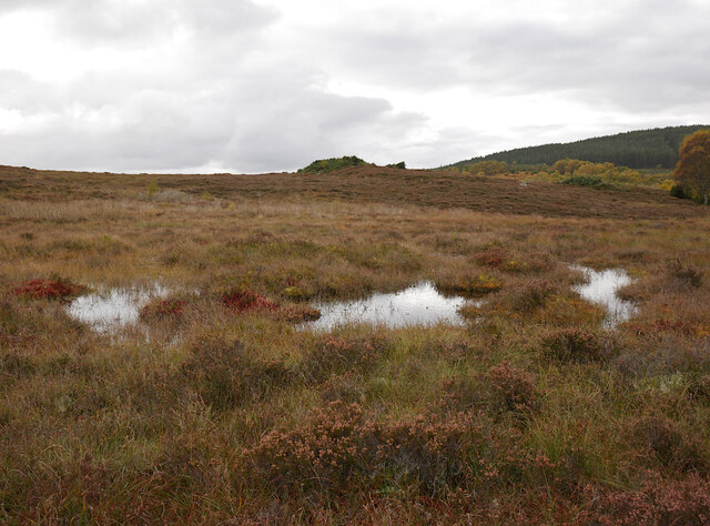 Boggy moorland, by Cnoc na Moine