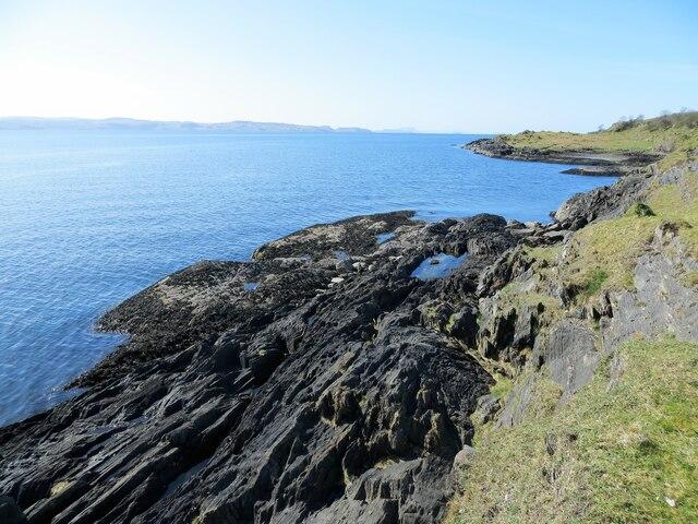 Coast of Lismore near Loch Treshtil