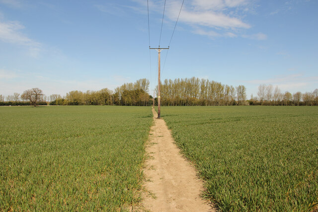 Footpath to Middle Farm
