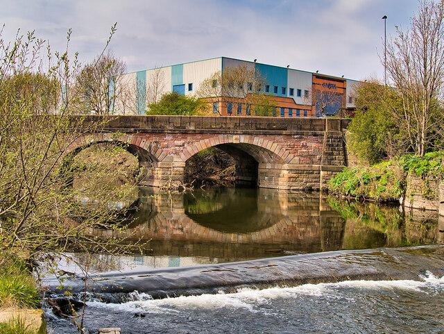 River Irwell, Hardy's Gate Bridge