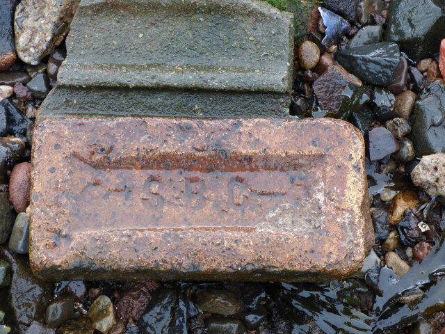 Old brick at Garvel Point