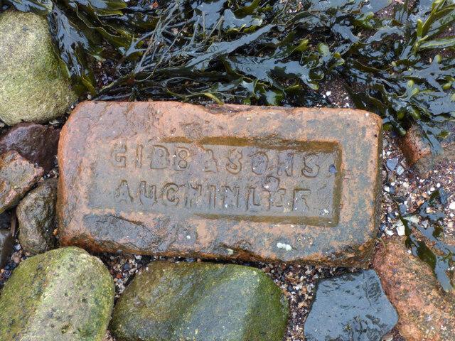 Old brick at Garvel Point