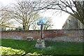 TF5617 : Tilney All Saints village sign by Adrian S Pye
