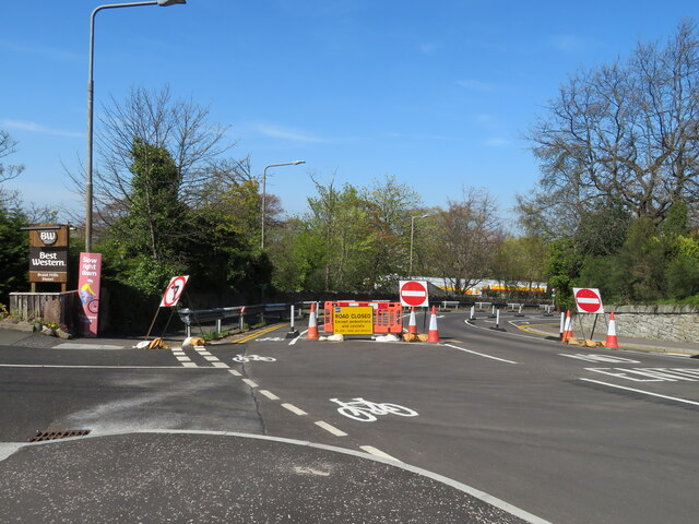 Braid Road reopened - southbound only