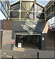 SO8505 : King Street entrance to Five Valleys Shopping Centre, Stroud by Jaggery