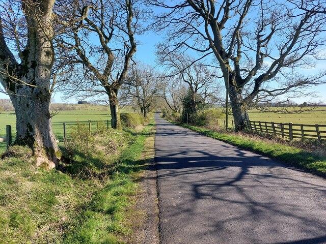 Minor road north of New Deanham