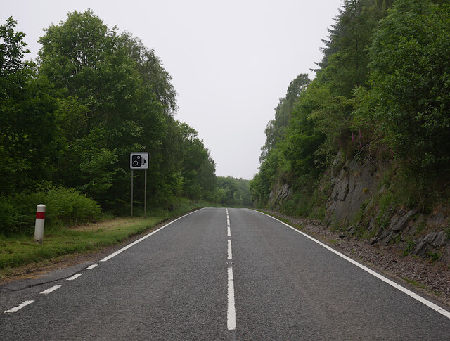 A82 road, by Loch Ness