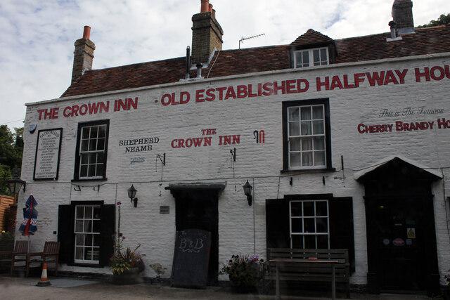 The Crown Inn, Ramsgate Road, Sarre