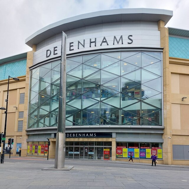 Debenhams, Eldon Square Shopping Centre, Newcastle upon Tyne