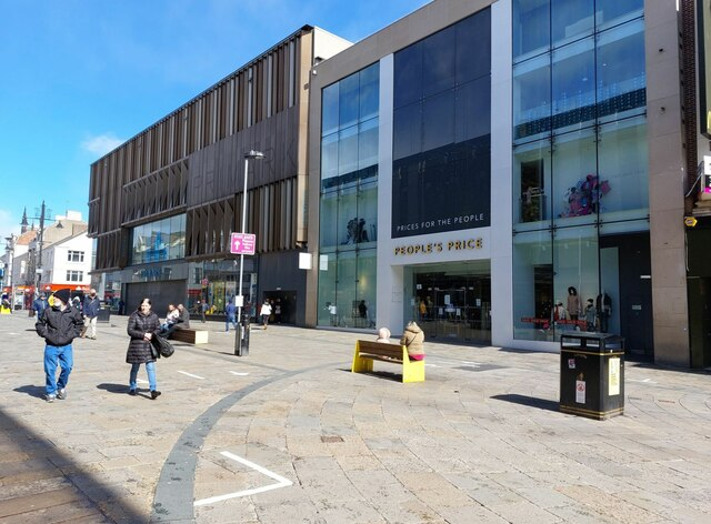Fashion retailers, Northumberland Street, Newcastle upon Tyne