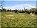 TQ2806 : Fingermaze - Hove Park by Paul Gillett