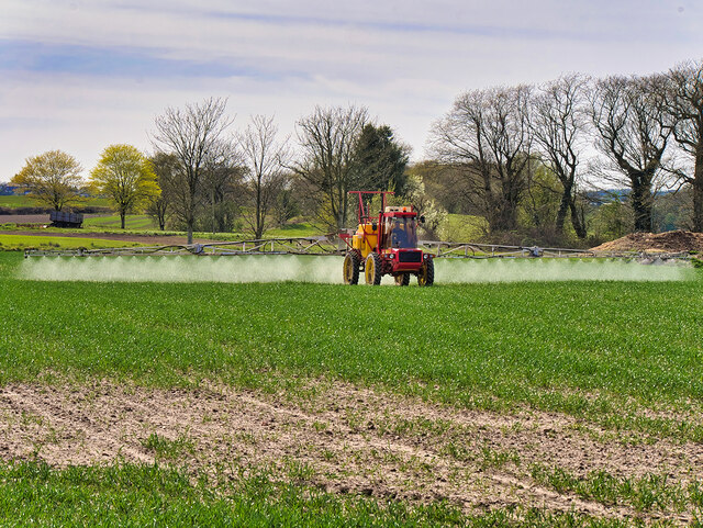 Crop Spraying, Talbot House Farm