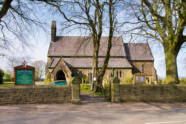 The Church of St James the Great, Wrightington