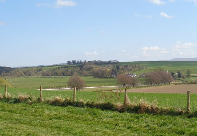 View from Birgham to Carham across the Tweed