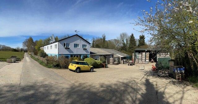Oast House at Owl House Fruit Farm