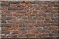 TF2425 : End gable brickwork by Bob Harvey