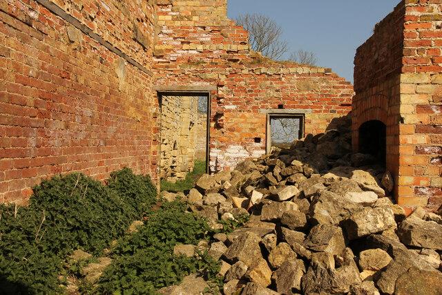 Tupholme Abbey ruins