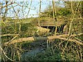 SE2823 : Three Boroughs Bridge on the Hey Beck by Stephen Craven