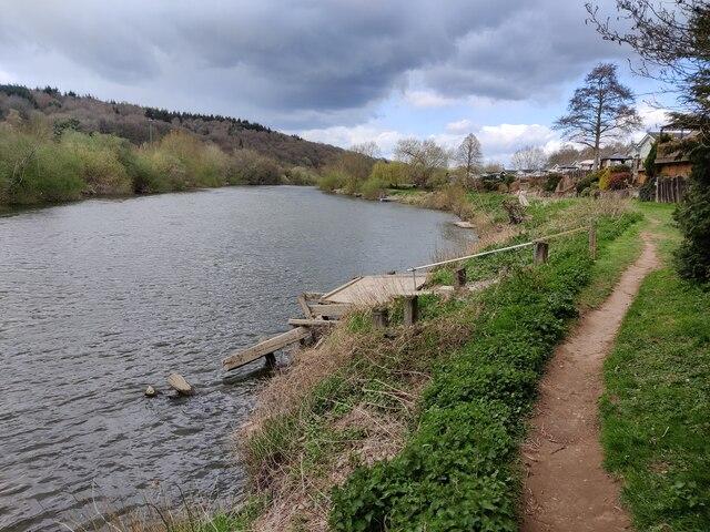 River Severn at Severn Bank Park