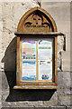SP9211 : Tring Parish Church - notice case by Stephen McKay