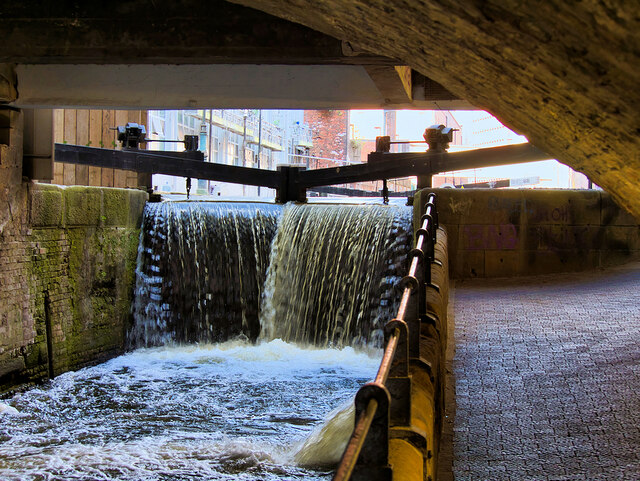 Rochdale Canal, Lock#88 at Oxford Street
