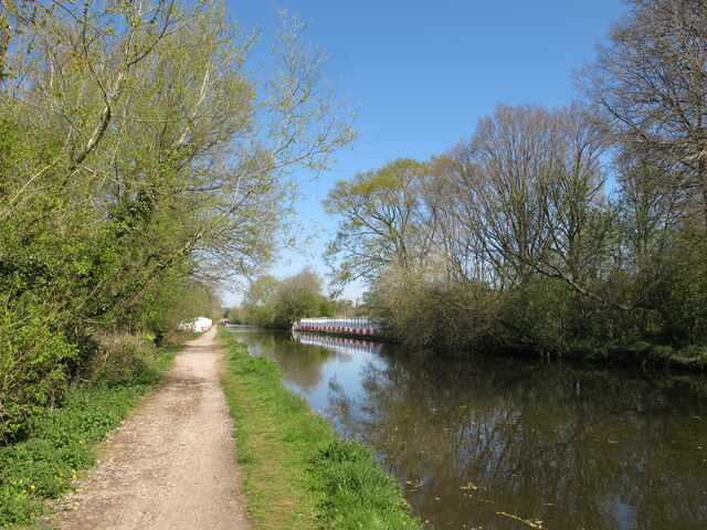 HS2 crossing point on Grand Union Canal