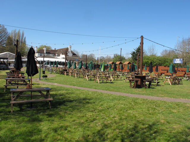 Pub garden with extra seating allowed during coronavirus restrictions