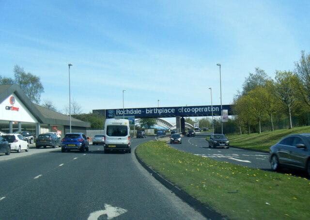 A664 Edinburgh Way, Rochdale