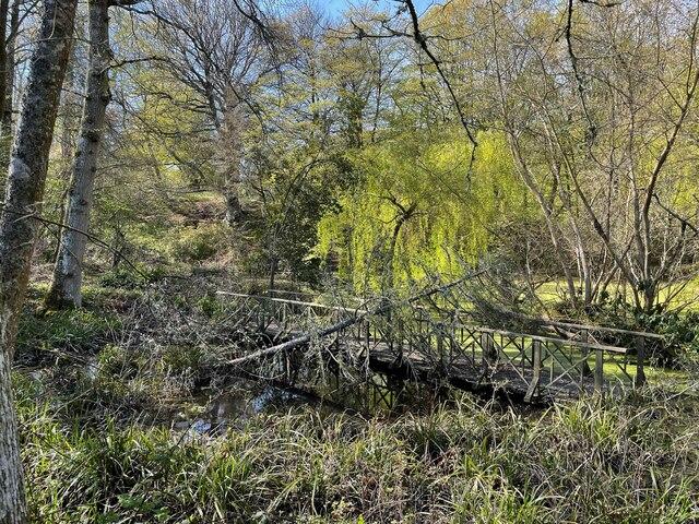 Pond at Owl House Gardens