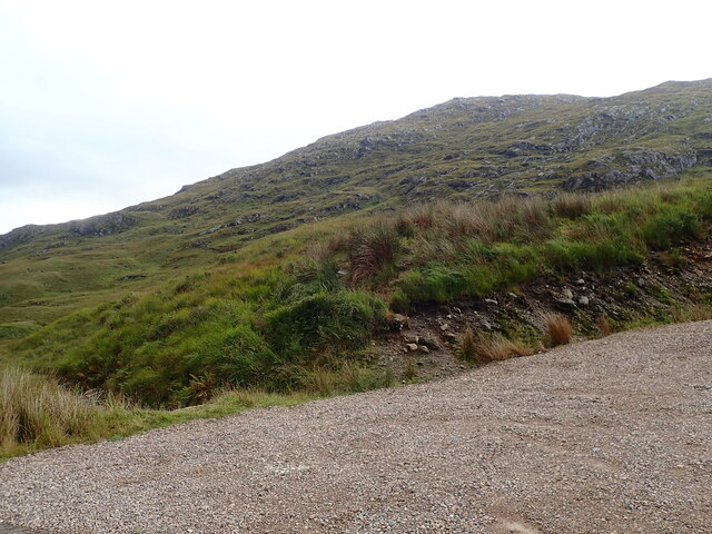 Lower slopes of An t-Sleubhaich