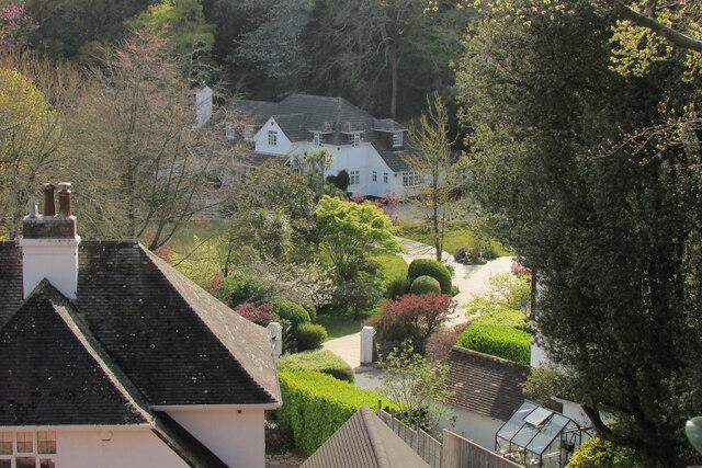 Houses, Ilsham valley