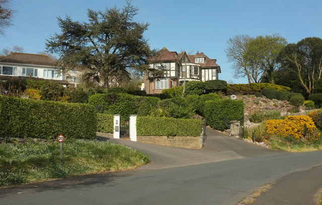 Houses on Ilsham Marine Drive
