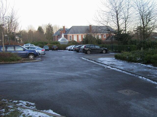 Parking at Westgate Badminton Centre