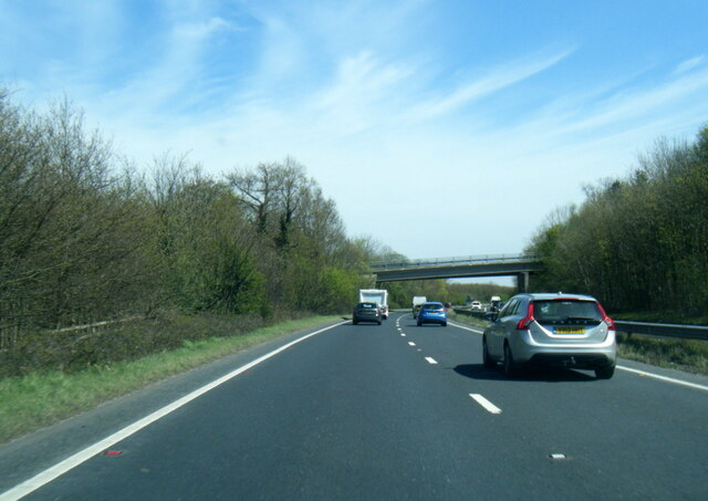 A64 near Tadcaster industrial estate