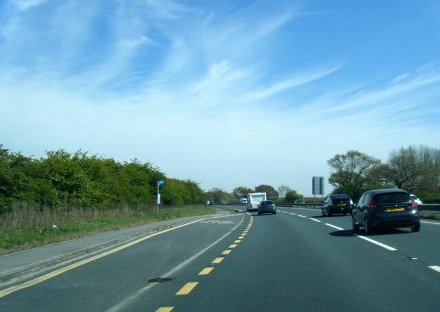A62 near Bowbridge Farm