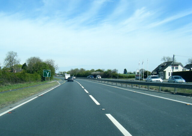 A64 north of Waile Hill