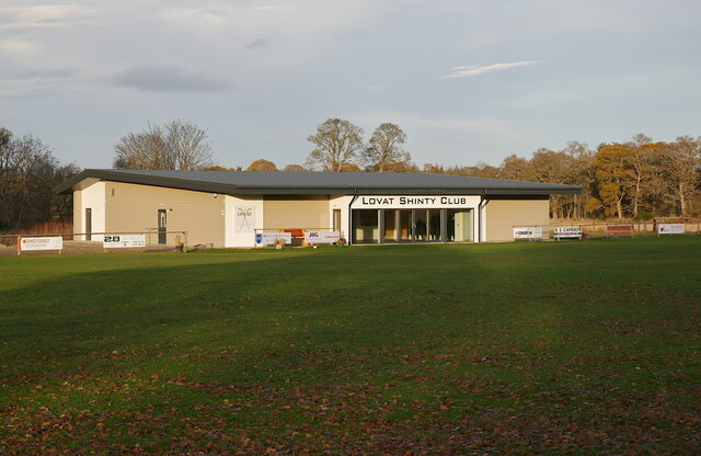 Lovat Shinty Club pavilion