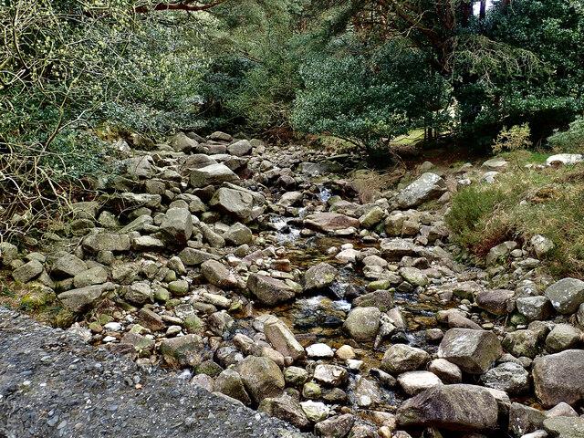 Depleted flow in  the Glen River