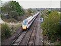 SE2535 : Evening trains at Kirkstall: Azuma by Stephen Craven
