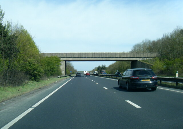 A64 passing under Common Lane overbridge