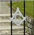 NS5072 : Masonic symbol by Richard Sutcliffe