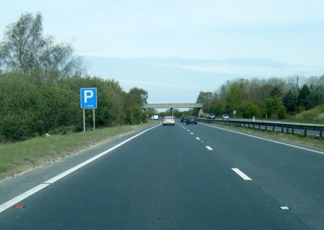 A64 near Murton Grange
