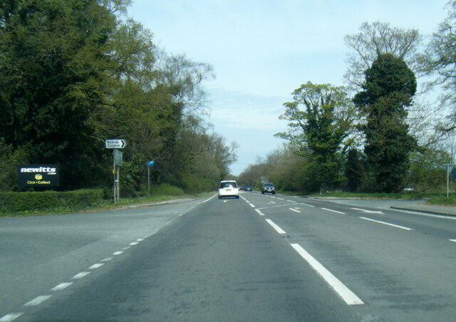 A64 at Claxton Moor