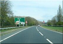SE7064 : A64 at Barton Hill by Colin Pyle