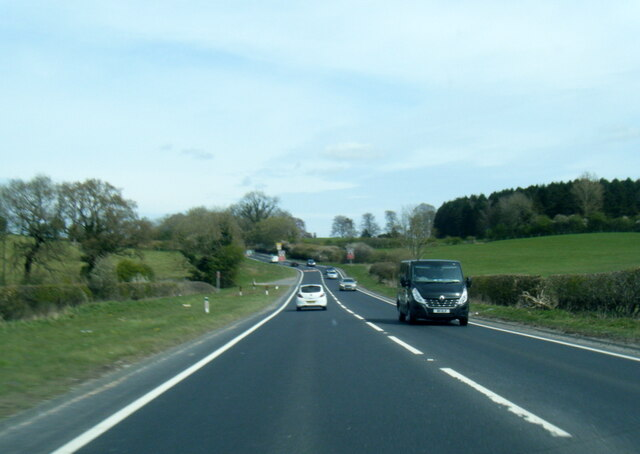 A64 nears Trousdale Hill
