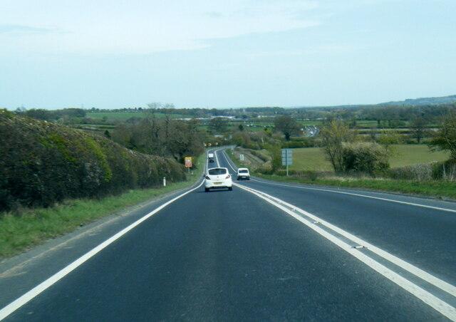 A64 near Sawkill Farm