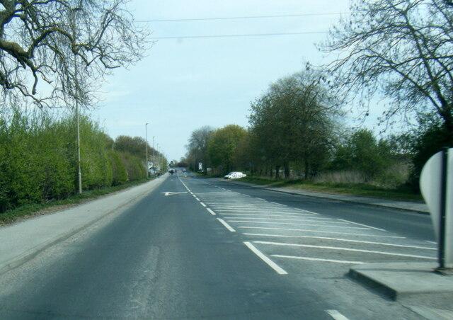 York Road entering Malton