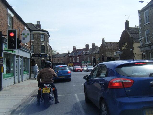 Newbiggin at Yorkersgate junction, Malton
