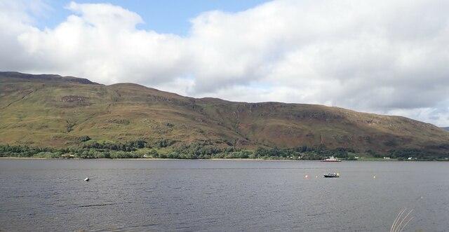 View over Loch Linnhe