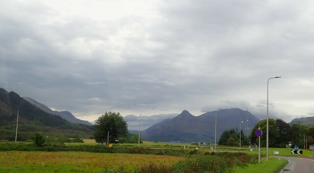 View up Glencoe from Ballachulish